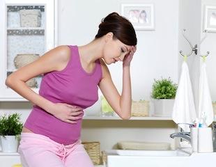 у вагітної болить шлунок - фото