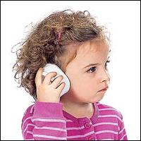 у дитини болить вухо - фото