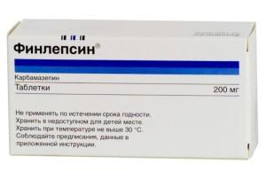 Фінлепсин фото упаковки - фото